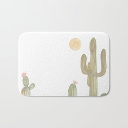 Cacti Bath Mat