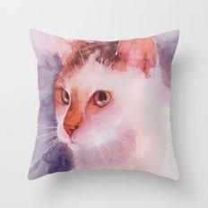 Soft fur Throw Pillow