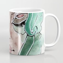 The Green Haired Girl Coffee Mug