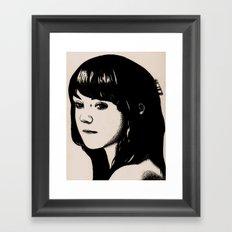Emily  Framed Art Print
