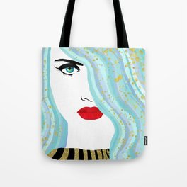 Francesca Has Mermaid Hair Tote Bag