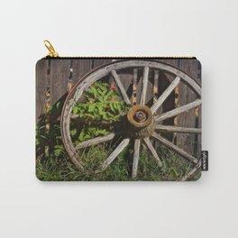 Like a Wagon Wheel Carry-All Pouch