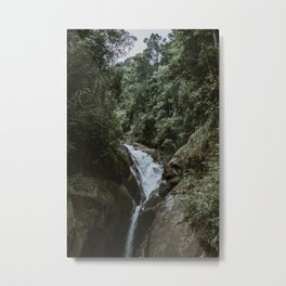CHILLING WATERFALL Metal Print