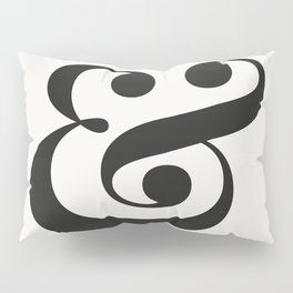 Ampersand - Light and Delicate - Typography Lovers Pillow Sham