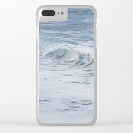 Wave break Clear iPhone Case