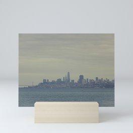 San Francisco Skyline from Sausalito, California #1 Mini Art Print