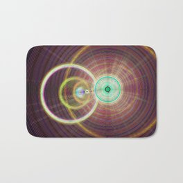 Circle Art  Bath Mat