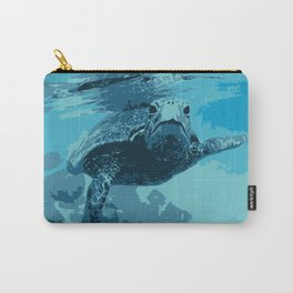 Meet me in Hawaii, sea turtle Carry-All Pouch