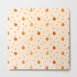 AFE Orange pattern  Metal Print