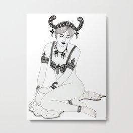 Mata Hari Metal Print