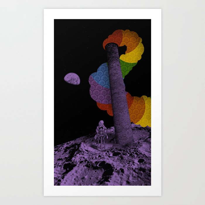 Lunar Variegation Phenomenon Art Print
