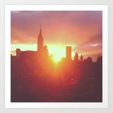 6:30am, New York Art Print