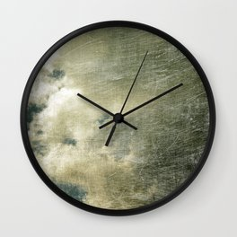 Partly Cloudy Wall Clock