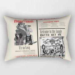 Guns N Roses Rectangular Pillow
