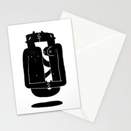 Razor blade Stationery Cards