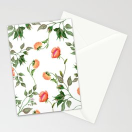 Yellow Aster Stationery Cards