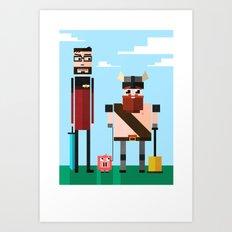 yogscast Art Print