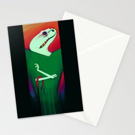 Reptile Style Stationery Cards