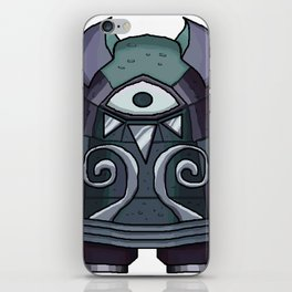 Stone Stare iPhone Skin