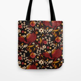 Australian Natives Red Blossom Tote Bag