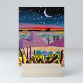 Antes de Amanacer Mini Art Print