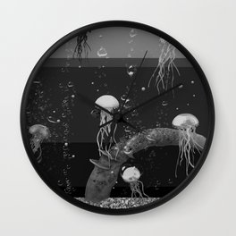 Where the jellyfish are Wall Clock