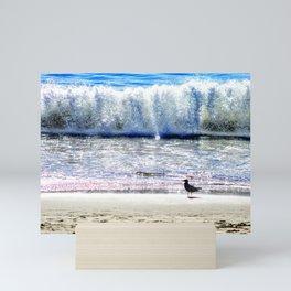 Malibu Seaguls Mini Art Print