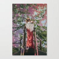 bleach Canvas Prints featuring bleach  by Levi Walton