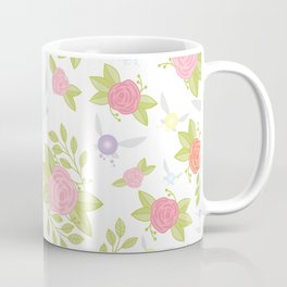 Garden of Fairies Pattern Coffee Mug