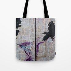 Bob Dylan: Like A Crow Tote Bag