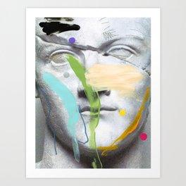 Composition 463 Art Print