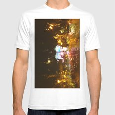 Rainy DayZ 37 Mens Fitted Tee MEDIUM White