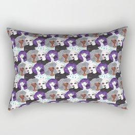 punk girls Rectangular Pillow