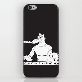 Feel the Music with Stevie Wonder iPhone Skin