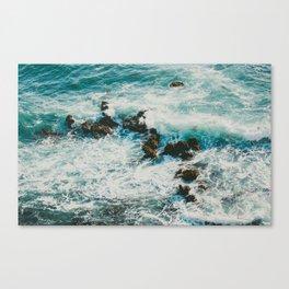 Palos Verdes Surf Canvas Print