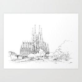 Bcn 10 Art Print