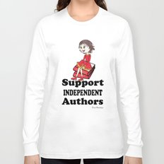 Support Independent Authors Long Sleeve T-shirt