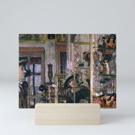 Édouard Vuillard - La Salle Clarac Mini Art Print