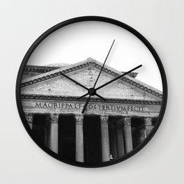 Pantheon II Wall Clock
