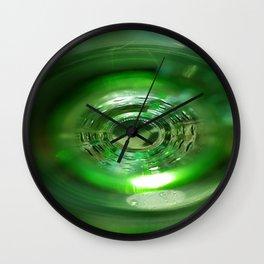 inside out bottle Wall Clock
