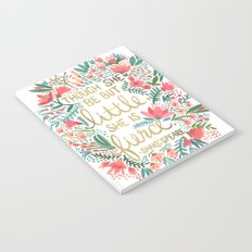 Little & Fierce Notebook
