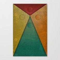 Letter tie Canvas Print