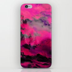 Raspberry Storm Clouds iPhone & iPod Skin