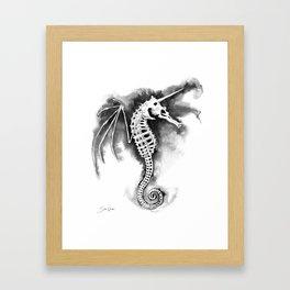 Pegasus of the Sea Framed Art Print