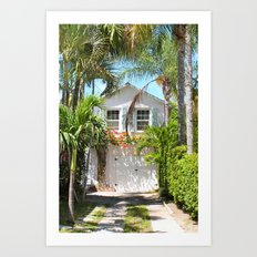 Piece of Paradise Art Print