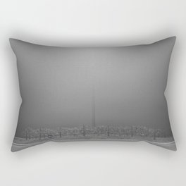 Light Fog Rectangular Pillow
