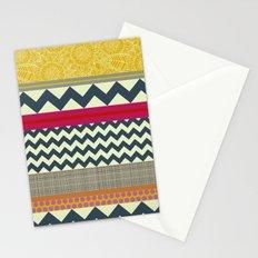 New York Beauty stripe Stationery Cards