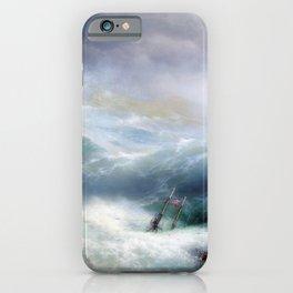 Ivan Aivazovsky - The Wave iPhone Case