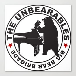The UnBearables Canvas Print