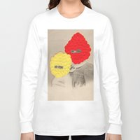 scales Long Sleeve T-shirts featuring Scales by Naomi Vona